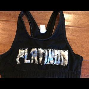 Other - Platinum cheer sports bra