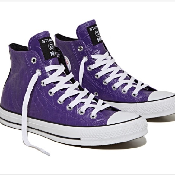 daa268e0547 Stussy x Converse 2013 Chuck Taylor All Star Hi ✨.  M 59602461b4188ebe3801151b