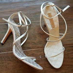 Shoes - BCBGMaxazria strappy evening heels