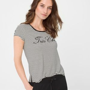 WHBM embroidered Tee