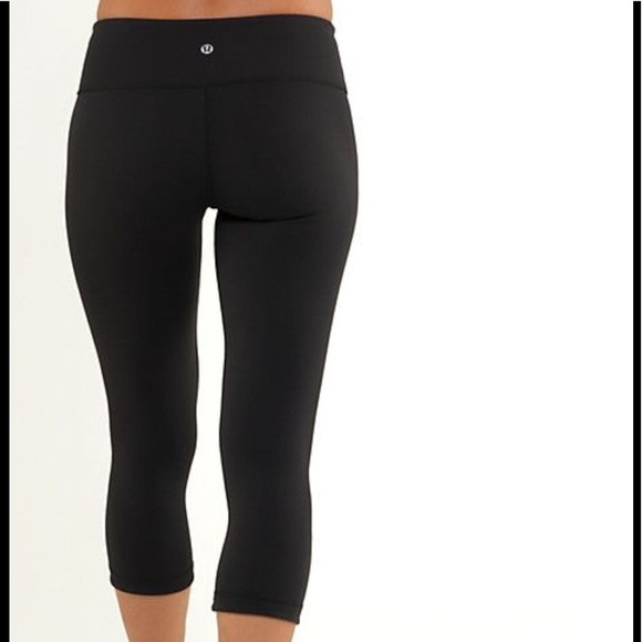 lululemon athletica - Lululemon crop women's yoga pants ...