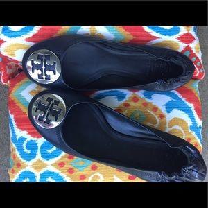 ec627af7d1f8 ... April Tory Burch Black Flats