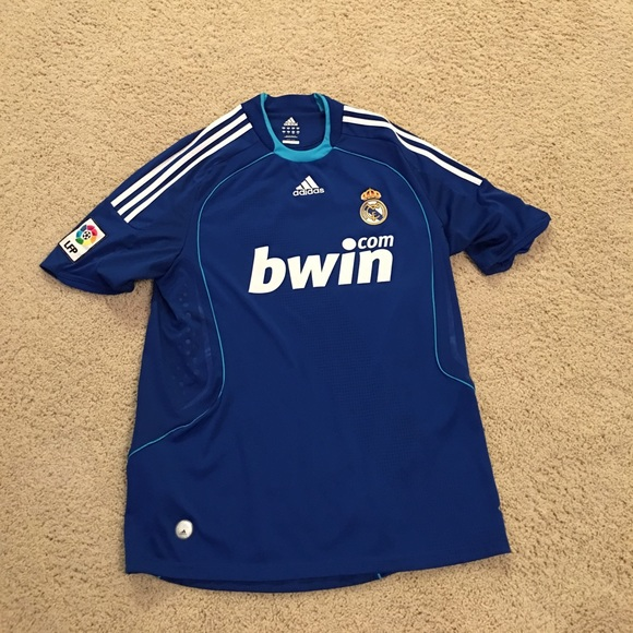 watch c44b8 ef386 ADIDAS bwin Real Madrid official soccer jersey⚽️
