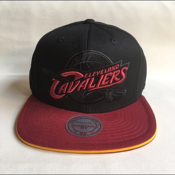 6e9f605eedb Cleveland Cavaliers Blackout snapback hat