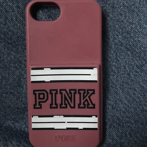 best service a89c8 fd482 Victoria's Secret Pink IPhone 7 Cardholder Case