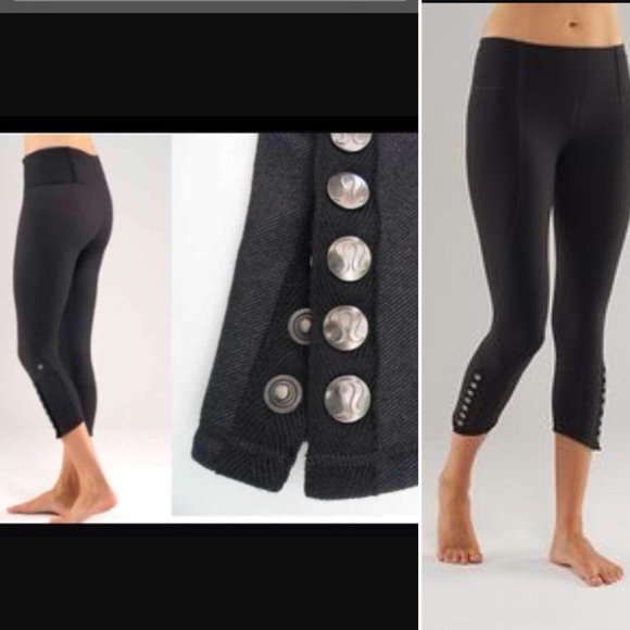 2b35a421c3 lululemon athletica Pants - {Lululemon} snap me up like leggings crop or  long