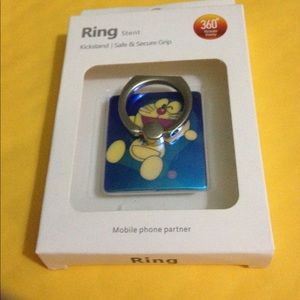 Accessories - Finger Ring Mobile Phone Smartphone Stand