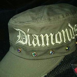 Brokedown Diamonds & Guns military cap