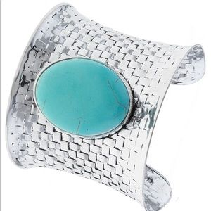 Jewelry - Turquoise Stone • Metal Wrist Cuff