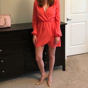 Arden B coral dress