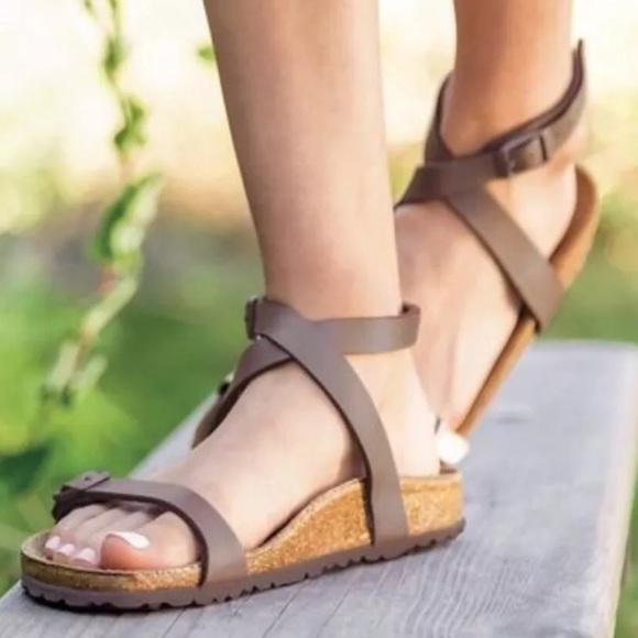 d91e510373c2 Birkenstock Daloa Ankle strap Sandals SZ 39 8- 8.5