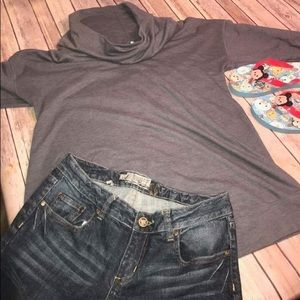 MATERNITY Sweater Old Navy Cozy Gray L