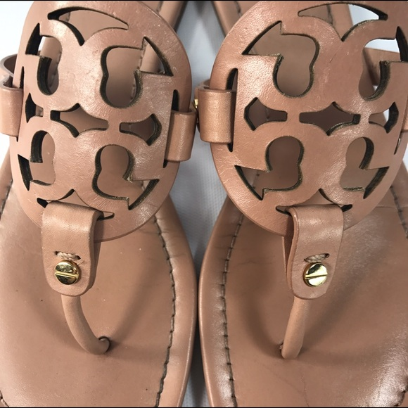 35 Off Tory Burch Shoes - Tory Burch Miller Sandals Makeup Color Size 9 From Polkadots Closet -2010
