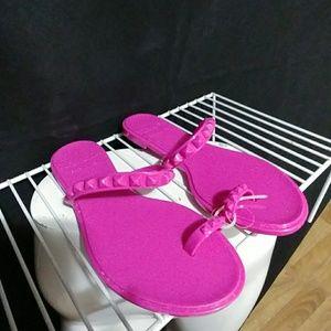 100f61fe64b9 Carmen Sol Shoes - Carmen Sol Pink Maria Jelly Sandal