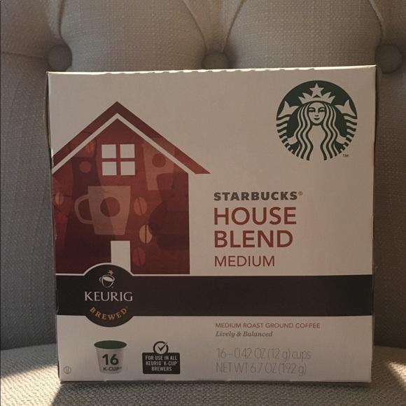 33 Off Other Starbucks House Blend Medium Roast K Cups