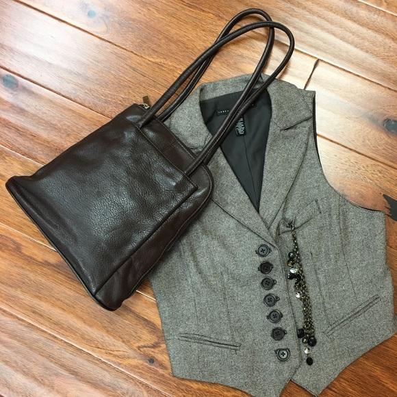 Clarks Bags London Brown Convertible Shoulder Backpack