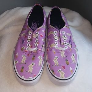 4c9b419c0c Vans Shoes - Vans Pool Vibe Purple Dog Sneakers