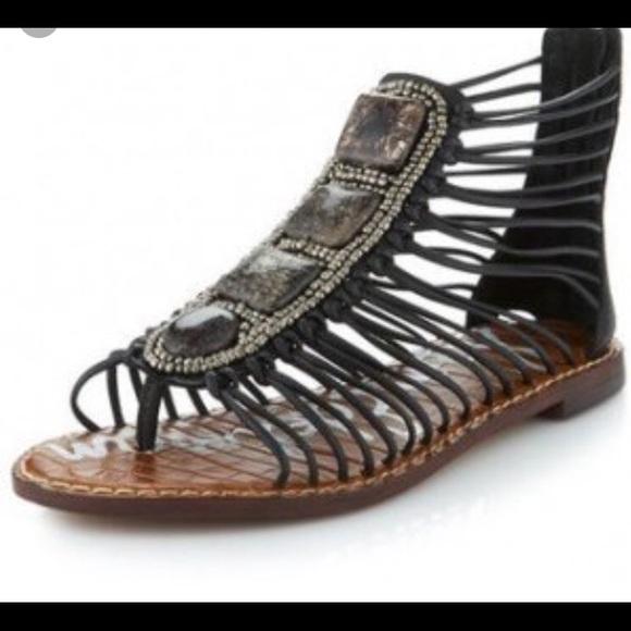 79833a6976e3b3 Sam Edelman Hazel Bead   Stone Gladiator Sandals. M 596060da6a583039a4022926