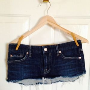 7 FOR ALL MANKIND BEACH COVER UP SZ 28