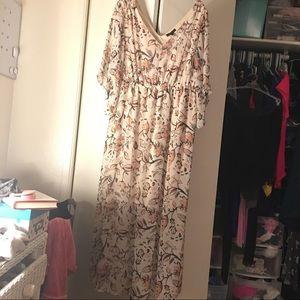 Maxi dress from Lane Bryant