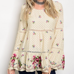 Tops - Boho CHic top