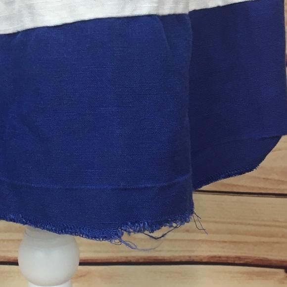 74 Off Loft Dresses Amp Skirts Ann Taylor Loft Blue White