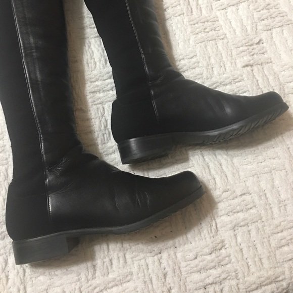 Black dress ankle boots 5050