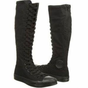 converse knee high boots. converse knee high boots