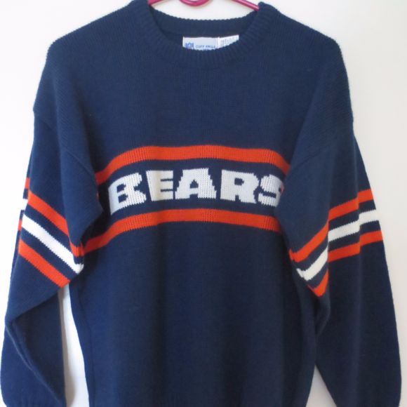 competitive price b31fe f86e2 Vintage 80's Chicago Bears Ditka Knit Sweater