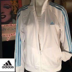 Adidias white jacket