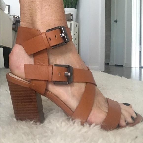 a11b3217f1b Zara strappy block heel sandals 40. M 5960cca468027863330001e0