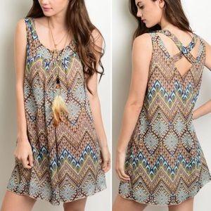 Dresses & Skirts - Boho swing dress - Petite sizing