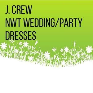 J. CREW wedding/party dresses