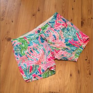 Lilly Pulitzer Let's Cha Cha size 2 shorts