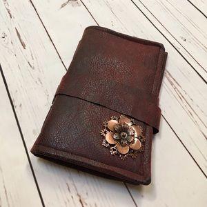 Accessories - Handmade leather bound journal