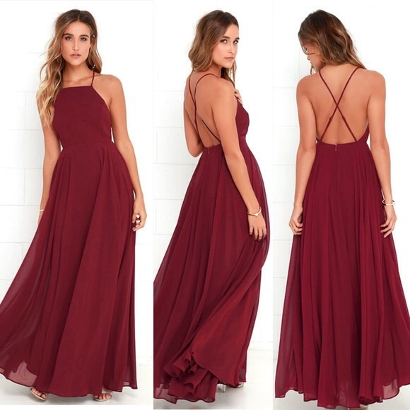63b7a0b43ccd01 Lulu's Dresses   Lulus Mythical Kind Of Love Maxi Dress Wine Small ...
