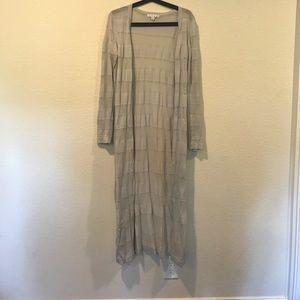 CAbi Sweaters - Cabi gray long length duster cardigan