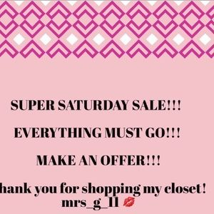 Shoes - ‼️‼️‼️SUPER SATURDAY SALE ‼️‼️‼️
