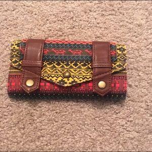 Handbags - Tribal Print Wallet