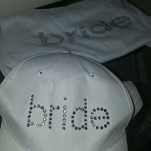 Accessories - 2 for 1 Bride top & bride cap