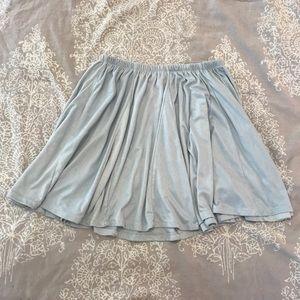 Brandy Melville baby blue skirt