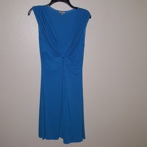 Boston Proper V-neck Twist Dress