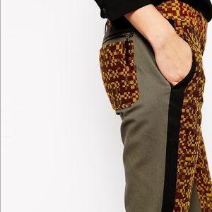 LAMB Jaquard trousers size 4