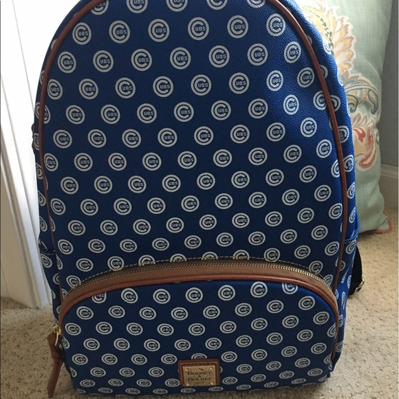 Enjoyable Dooney And Burke Chicago Cubs Leather Backpack Nwt Pabps2019 Chair Design Images Pabps2019Com