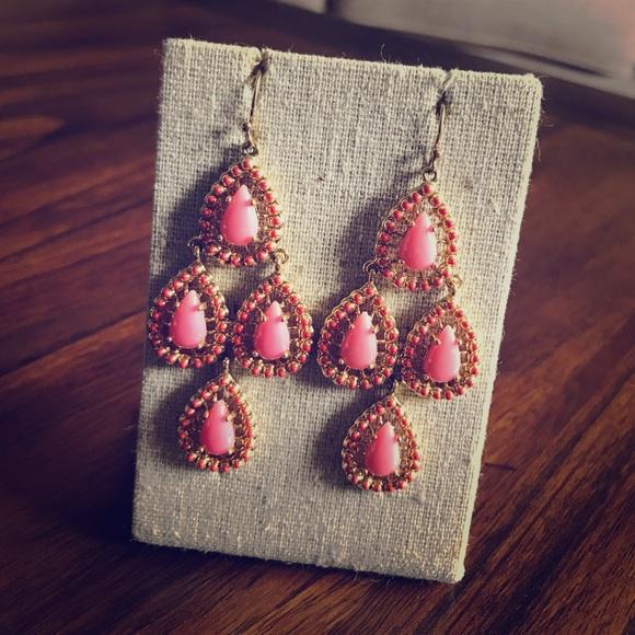Stella & Dot Jewelry - Seychelle chandelier earrings