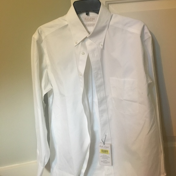 70 off roundtree yorke other men 39 s dress shirt for Pinpoint button down dress shirt
