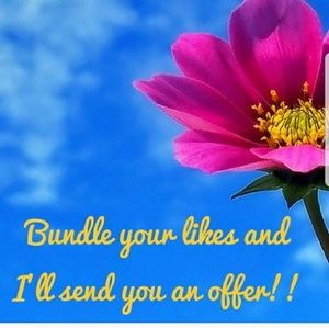 BUNDLE AND LET ME MAKE YOU AN OFFER