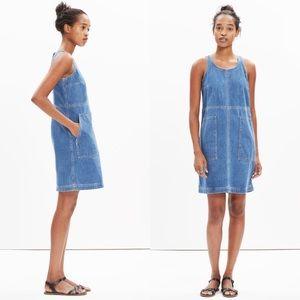 Madewell Denim Utility Shift Dress