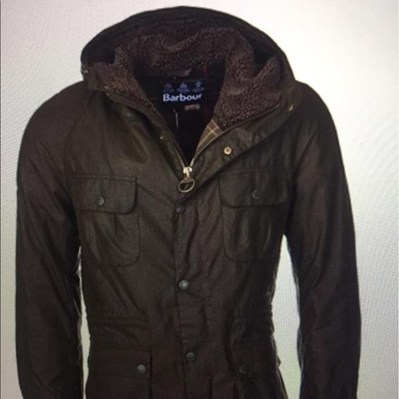 Barbour Other - Barbour brindle wax parka jacket Men s size L b7d1a5d1941b