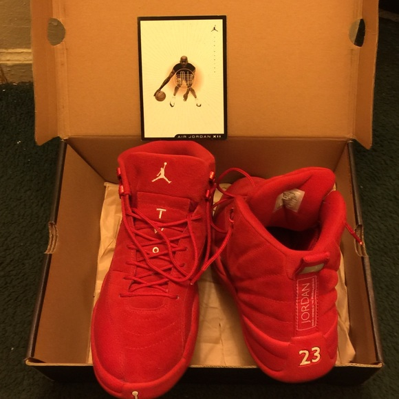 purchase cheap c9d52 524ca Jordan Retro 12s Big Red Boutique